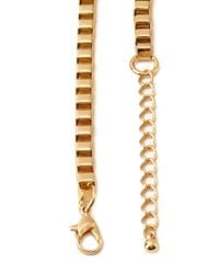 Forever 21 - Metallic Boxy Bejeweled Necklace - Lyst