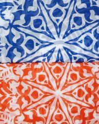 Finley | Multicolor Carli Santorini Printed Blouse | Lyst