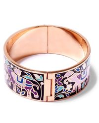 Liberty | Black Imran Multicolour Thick Cuff | Lyst
