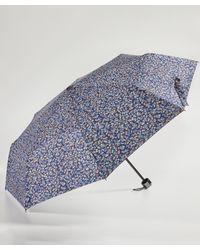 DAMART - Blue Ditsy Floral Umbrella - Lyst