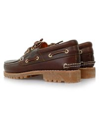 Timberland - Heritage 3-Eye Classic Lug Brown Leather Shoes 214 for Men - Lyst