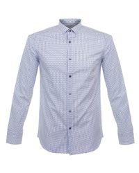 Matíníque - Allan Dot White Shirt for Men - Lyst