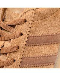 Adidas Originals - Brown Bermuda Sneakers for Men - Lyst