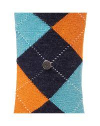 Burlington Socks | Blue Edinburgh Socks for Men | Lyst