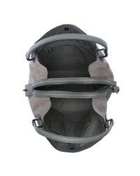 COACH - Gray Edie 42 Grey Leather Shoulder Bag - Lyst