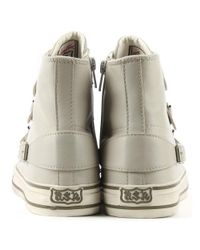 Ash - Multicolor Virgin Bis Pearl Leather High Top Trainer - Lyst