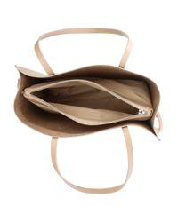 Daniel - Natural Shore Beige Leather Unlined Tote Bag - Lyst