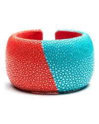 DANNIJO - Benj Red/turquoise - Lyst