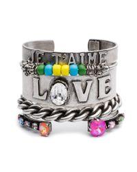 DANNIJO - Multicolor Love Stack - Lyst