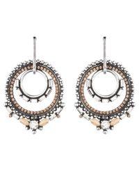 DANNIJO - Metallic Chandra Earrings - Lyst