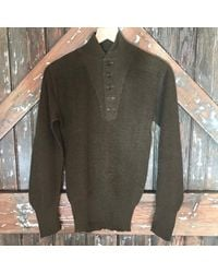DANNIJO - Vintage Army Green Sweater for Men - Lyst