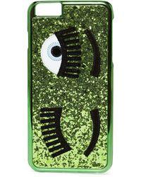 Chiara Ferragni | Green Flirting Iphone 7 Case | Lyst