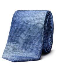 Ted Baker | Blue Ombre Semi Plain Stripe Tie for Men | Lyst