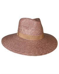 Ace of Something - Brown Straw Braid Fedora - Lyst