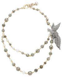 Lulu Frost   Metallic Canopy Necklace   Lyst