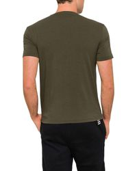 Emporio Armani - Green Logo Tee for Men - Lyst