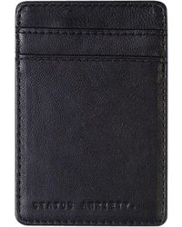 Status Anxiety - Black Magic Flip Wallet for Men - Lyst
