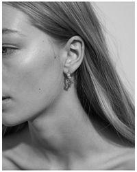 Meadowlark - Metallic Small Alba Hoop Earrings - Lyst