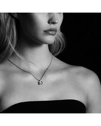 David Yurman - Metallic Châtelaine Pendant Necklace With Garnet And Diamonds In 18k Gold, 11mm - Lyst