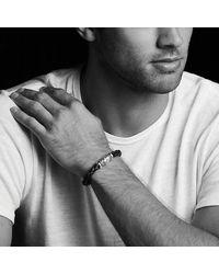 David Yurman - Waves Bracelet In Black for Men - Lyst