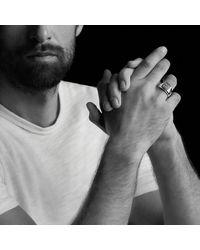 David Yurman - Exotic Stone Signet Ring With Black Onyx for Men - Lyst