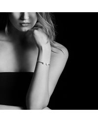 David Yurman - Metallic Solari Bead Bracelet With Grey Moonstone In 18k Gold - Lyst