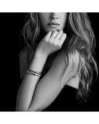 David Yurman - Metallic X Bracelet With Gold - Lyst