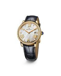 David Yurman - Metallic Classic 38mm 18k Gold Quartz Watch With Diamond Bezel - Lyst