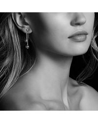 David Yurman - Metallic Solari Chain Drop Earrings With Diamonds In 18k Gold - Lyst