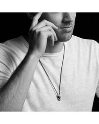 David Yurman - Multicolor Chevron Woven Necklace - Lyst