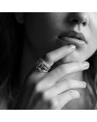 David Yurman - Metallic Renaissance Ring With Citrine, Rhodalite Garnet And 14k Gold - Lyst