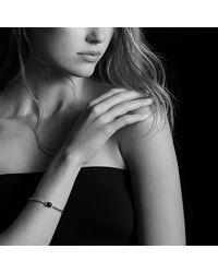 David Yurman - Metallic Petite Wheaton Bracelet With Garnet And Diamonds - Lyst