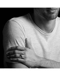 David Yurman - Metallic Meteorite Signet Ring for Men - Lyst