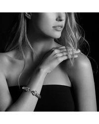 David Yurman - Metallic Renaissance Bracelet With Amethyst, Iolite, And 14k Gold, 10mm - Lyst
