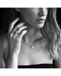 David Yurman - Metallic Petite Wheaton® Ring With Diamonds In 18k Gold - Lyst