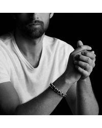 David Yurman | Black Modern Cable Empire Link Bracelet for Men | Lyst