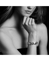 David Yurman - Metallic Chatelaine Linear Bracelet With Diamonds And 18k Gold - Lyst