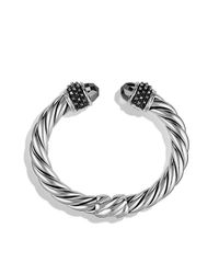 David Yurman | Metallic Osetra Bracelet With Hematine, 10mm | Lyst