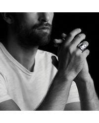 David Yurman - Metallic Frontier Ring With 18k Gold for Men - Lyst