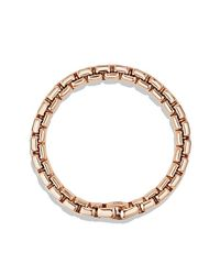David Yurman - Pink Box Chain Bracelet In 18k Rose Gold, 7.5mm for Men - Lyst