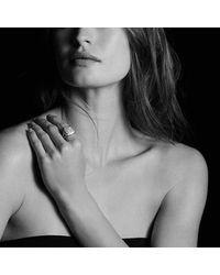 David Yurman - Gray Albion Ring With Diamonds - Lyst