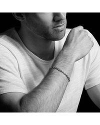 David Yurman - Gray Royal Cord Chain Bracelet, 5mm for Men - Lyst