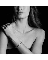 David Yurman - Metallic Cable Classics Bracelet With Amethyst And Diamonds, 5mm - Lyst