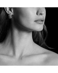 David Yurman | Metallic Crossover Earrings | Lyst