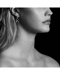 David Yurman   Metallic Châtelaine Drop Earring With Hematine And Diamonds   Lyst