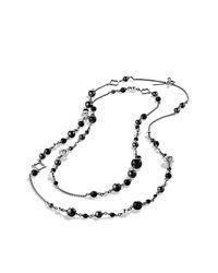 David Yurman - Metallic Quatrefoil Necklace - Lyst