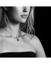 David Yurman | Cable Wrap Necklace With Black Onyx And Diamonds, 10mm | Lyst
