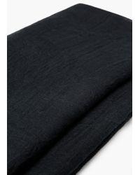 Mango - Black Essential Scarf - Lyst
