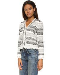 Rebecca Taylor | Natural Artisan Tweed Jacket | Lyst