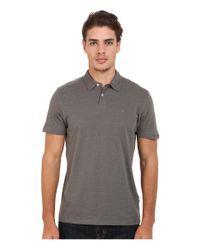 Volcom - Gray Wowzer Polo for Men - Lyst